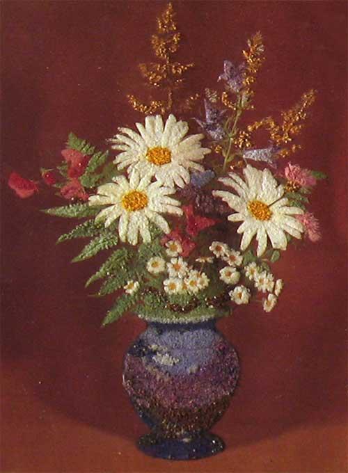 Панно «Полевые цветы»